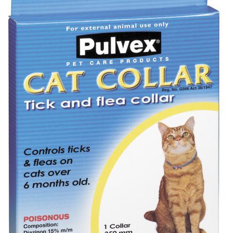 Pulvex Tick & Flea Collar Cat