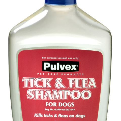 Pulvex Tick & Flea Shampoo 200ml
