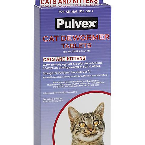 Pulvex Dewormer Cat & Kitten
