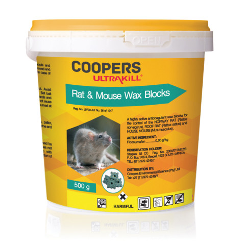 Coopers Rat And Mouse 500g