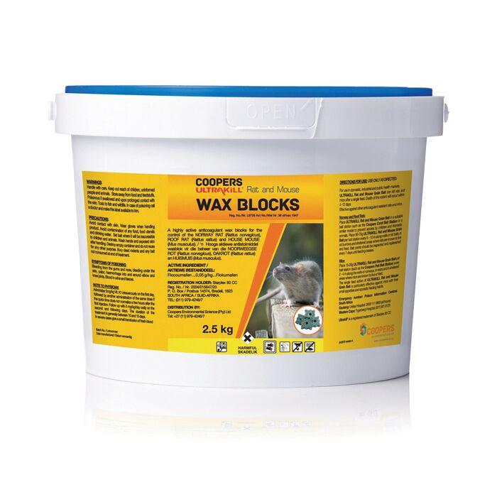 Pest Control In Boyertown Mail: Ultrakill Rat & Mouse Wax Blocks Professional