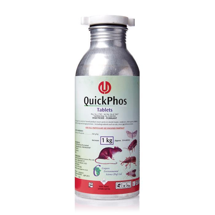 Phostoxin Tablets Label